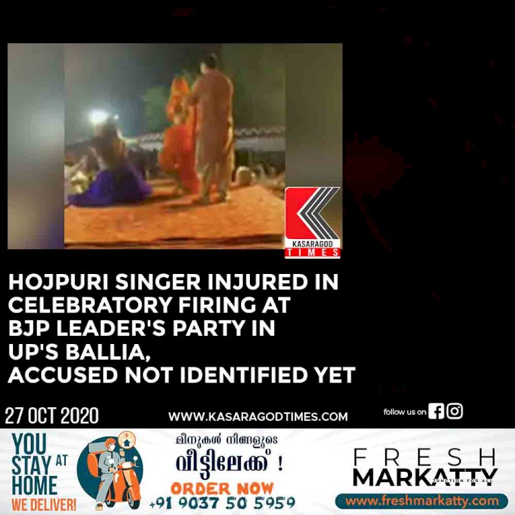 Bhojpuri Singer Injured in Celebratory Firing at BJP Leader's Party in UP's Ballia, Accused Not Identified Yet
